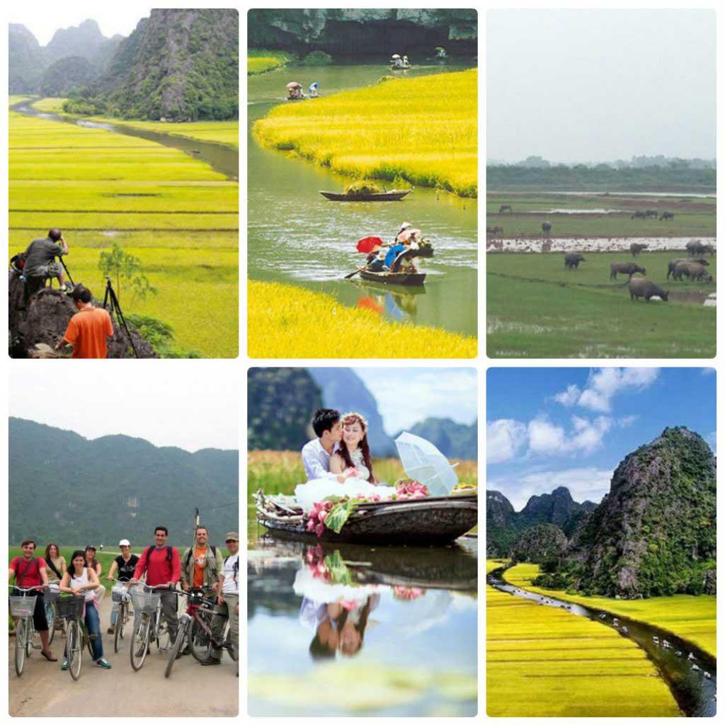 Hoa lu- Tam coc – Bich Dong Pagoda full day tour