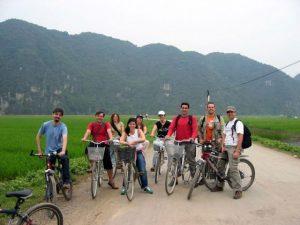 biking tour in tam coc