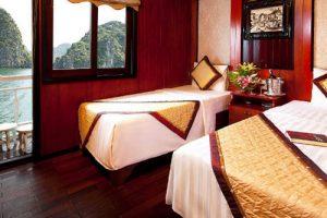 majestic halong cruise twin cabin