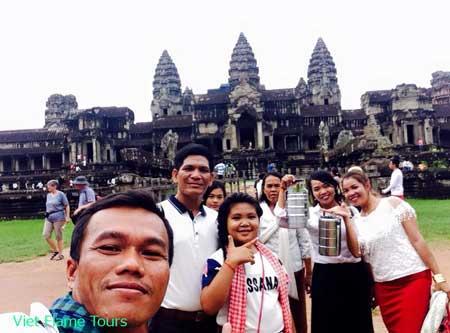 viet flame tours organizes cambodia trip
