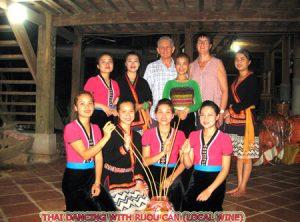 thai traditional dancing