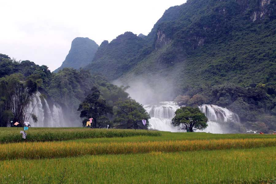 Ban gioc waterfall- Ba Be Tour 3days 2nights from Hanoi
