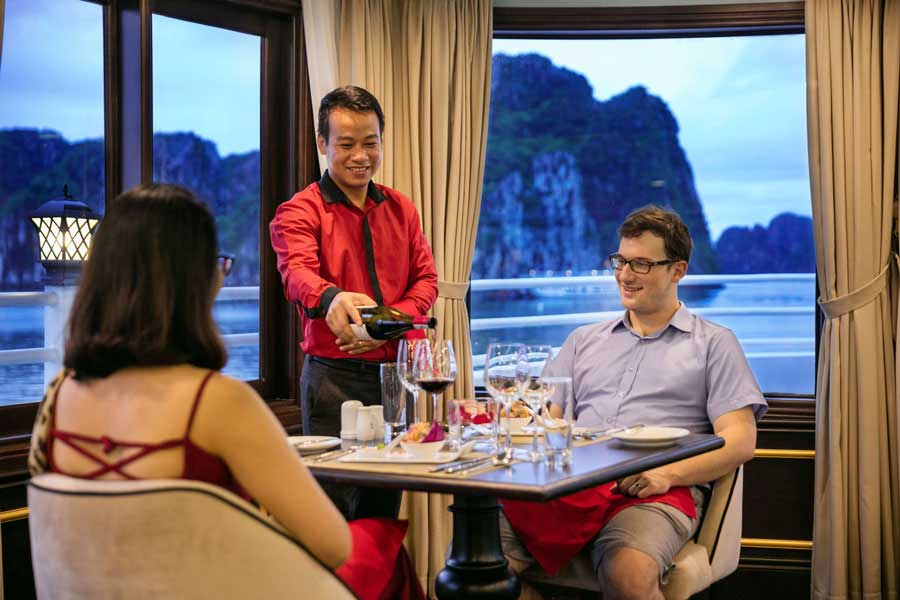 athena cruise halong bay tour