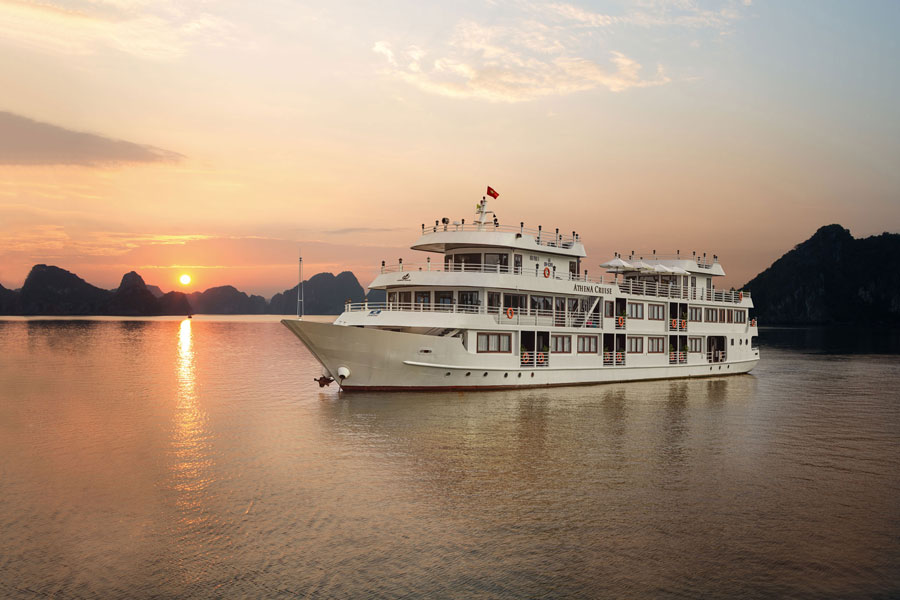 Halong Athena Cruise -Halong cruises luxury