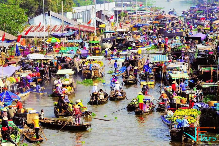 Mekong Delta Tour 2 Days 1 Night ( Cai Be- Can Tho)