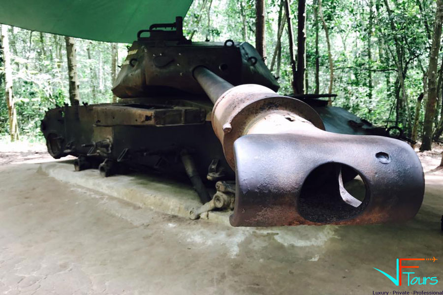 Cu Chi Tunnels- Ho Chi Minh Tour Full Day