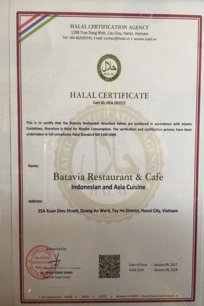 Batavia Restaurant & Cafe